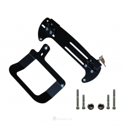 Side mounting system of DEEMEED Bag Explorer S for HD Sportster (Left side)