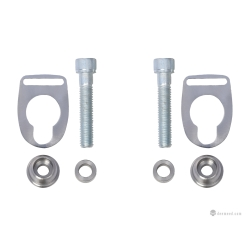 Stainless Steel Mounting System Sportster (set) 2
