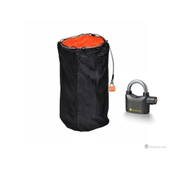 Helmet security bag - DOUBLE SIZE + BIG ALARM LOCK