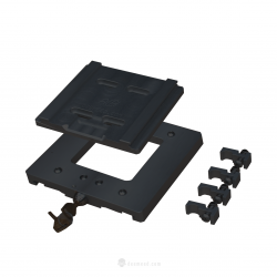 Quick lock & realease rack bracket BLACK